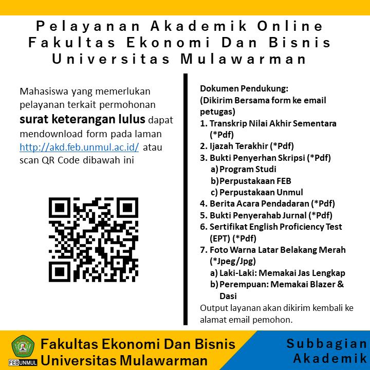 Pelayanan Akademik Online (Surat Keterangan Lulus)