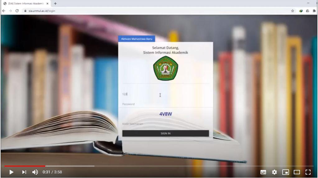 Tutorial Registrasi dan Pengisian Kartu Rencana Studi (KRS) FEB Unmul